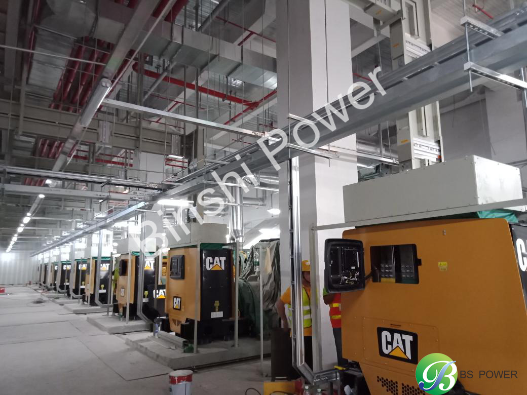 9 Units Diesel Generators Have Been Installed by Binshi Power